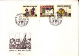 Liechtenstein, First Day Cover, Toys