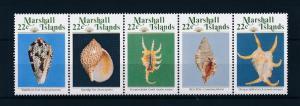 [56957] Marshall Islands 1987 Marine life Sea shells MNH