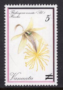 Vanuatu 383 Flower MNH VF