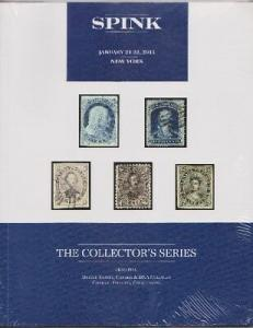 Spink January 2016 Collector's Series Stamp Auction Catalogue - NEW