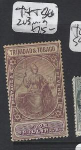 TRINIDAD AND  TOBAGO   (P2005B)  5/-  SG 203  MOG