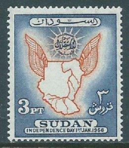 Sudan, Sc #119, 3pi MH