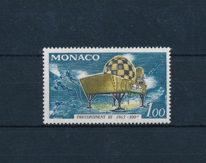 [49543] Monaco 1966 Marine life Diving Submarine MLH