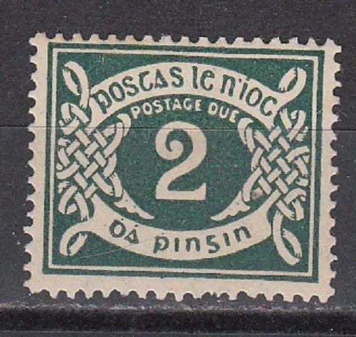 Ireland Scott J3 Mint hinged (Catalog Value $32.50)