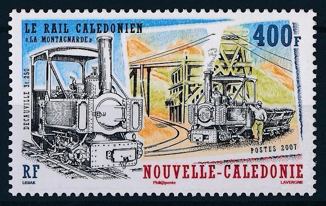 [63557] New Caledonia 2007 Railway Train Eisenbahn Chemin de Fer  MNH