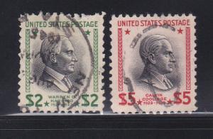 United States 833-834 U Presidents