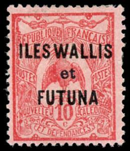 Wallis and Futuna Islands 8 Unused (MH)