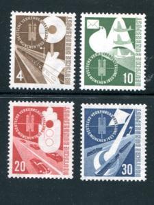Germany #698-701  Mint VF NH