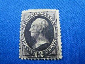 UNITED STATES, 1873 SCOTT #162 -  USED