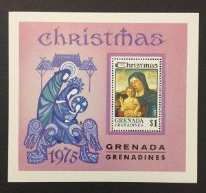 Grenada Grenadines 1975 #136 S/S, Christmas, MNH