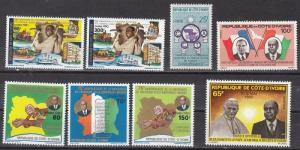 Ivory Coast - group of Mint NH sets (Catalog Value $22.90)