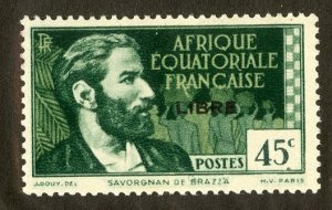 FRENCH EQUATORIAL AFRICA 96 MH SCV $16.00 BIN $7.00 PERSON