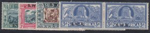 Southwest Africa - 1938 - SC B5-8 - MH - Complete set