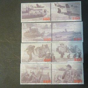 Isle of Man 1028-1031 Mint NH, OG VF 2004  Cv.  $11.25