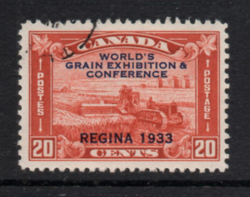 Canada Sc 203 1933 Grain Exhibition stamp used