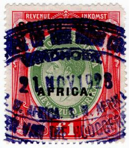(I.B) South-West Africa Revenue : Duty Stamp £1