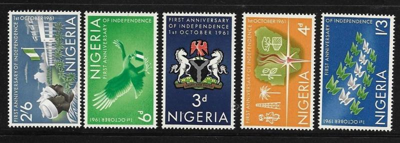 Nigeria 1961 First anniversary of independence MNH A66