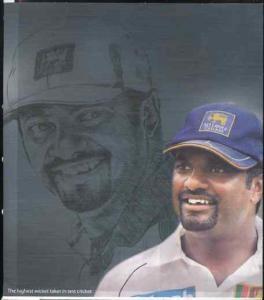 Sri Lanka 2009 Muttiah Muralitharan (cricketer) Official ...