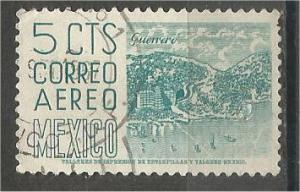 MEXICO, 1951, used 5c, Definitive Scott C186