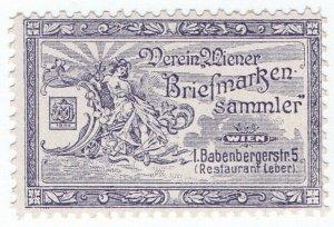 (I.B) Austria Cinderella : Vienna Stamp Dealer's Society