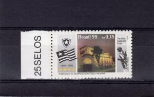 Brazil 1995 Sc#2568 Botafogo Football Club Set (1) MNH