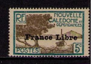NEW CALEDONIA Sc# 221 MH FVF Bay of Paletuviers