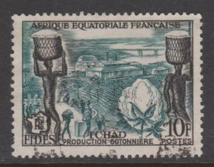 French Equatorial Africa Sc#190 Used