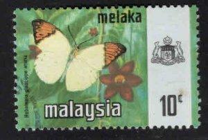 Malaysia Malacca Scott 78 Used Butterfly stamp