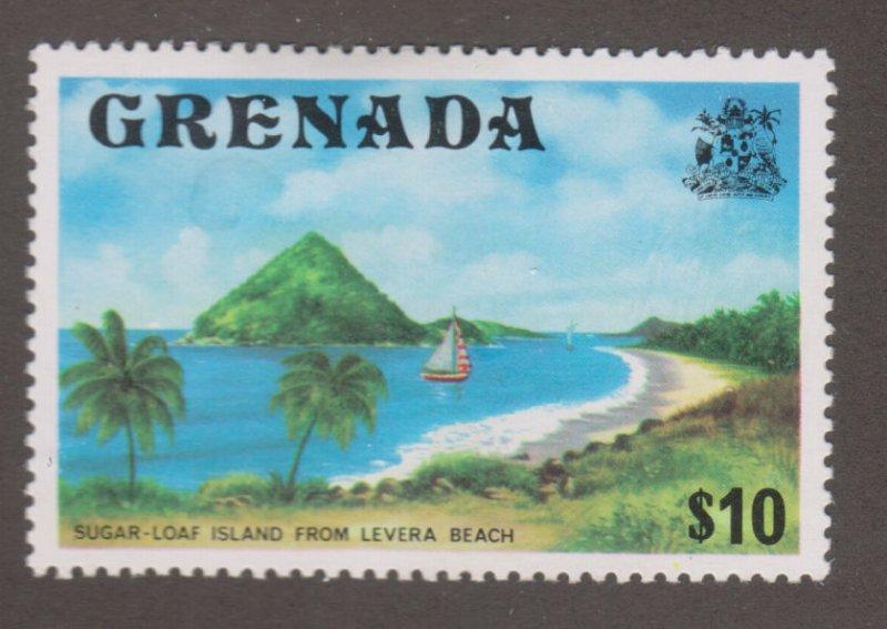 Grenada 602 Sugar loaf Island from Levera Beach 1975