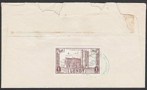 GB LUNDY 1972 cover - 1p St Helena's Church.................................F846