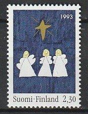 1993 Finland - Sc 929 - MNH VF - 1 single - Christmas