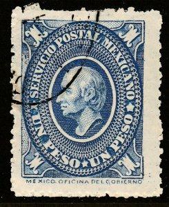 MEXICO 161, $1P USED, F-VF. (74)