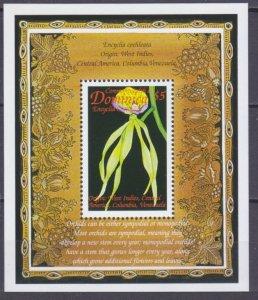 1999 Dominica 2638/B373 Flowers 5,00 €