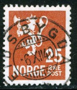 NORWAY #197, USED - 1940 - NORWAY040NS11