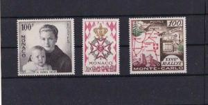 MONACO  1958  UMMOUNTED MINT  STAMPS  CAT £ 32+  REF R1166
