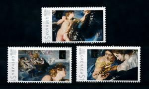 [100058] Grenada 2009 Art Painting Rubens Abduction of Ganymede  MNH