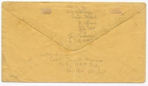 CSA POW Cover South-to-North Old Poit Comfort, VA CDS July 18 (1864) Union Due 6