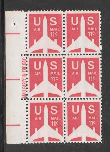 #C78 MNH Mail Early Block of 6