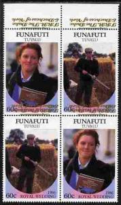 Tuvalu - Funafuti 1986 Royal Wedding (Andrew & Fergie...