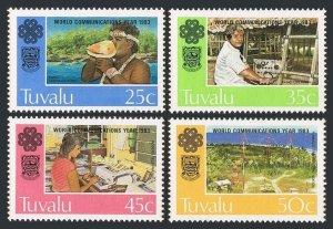 Tuvalu MNH 212-5 World Communication Year 1983