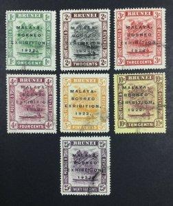 MOMEN: BRUNEI 1922 USED £460 LOT #61904
