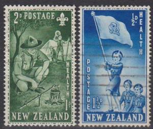 New Zealand #B42-3 F-VF Used (B6173)