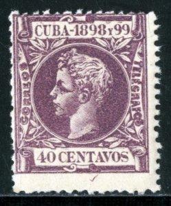 CUBA #171, MINT NH - 1898 - CUBA831AFF8