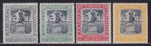 Barbados 102-105 VF mint previously hinged nice colors scv $ 40 ! see pic !
