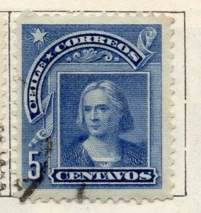 Chile 1905 Early Issue Fine Used 5c. NW-11424