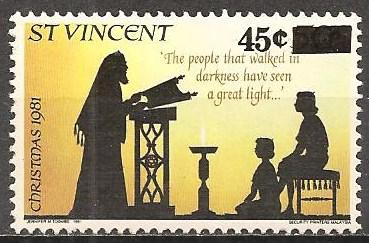 St Vincent  #674 Mint Never Hinged F-VF (ST210)