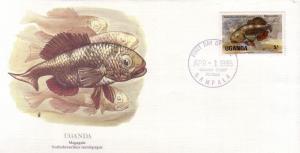 Uganda FDC SC# 432 Magagala Fish L371