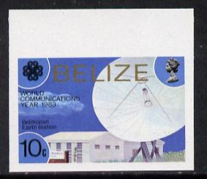 Belize 1983 Communications 10c Belmopan Earth Station in ...