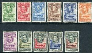 BECHUANALAND-1938-52  A mounted mint set to 10/- Sg 118-128
