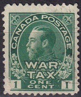 Canada #MR1   F-VF Used (V4656)